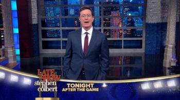 The Late Show Super Bowl 2016 TV Promo - Thumbnail 2