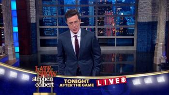 The Late Show Super Bowl 2016 TV Promo - Thumbnail 3