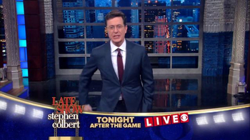 CBS: The Late Show Super Bowl 2016 TV Promo