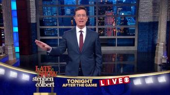 The Late Show Super Bowl 2016 TV Promo - Thumbnail 5