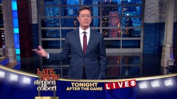 The Late Show Super Bowl 2016 TV Promo - Thumbnail 6