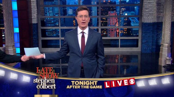 The Late Show Super Bowl 2016 TV Promo - Thumbnail 7