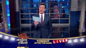 The Late Show Super Bowl 2016 TV Promo - Thumbnail 9