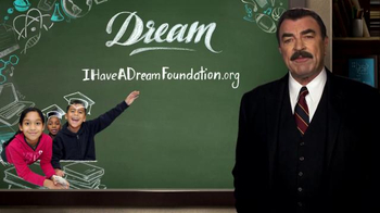 CBS Cares Super Bowl 2016 TV Spot, 'Tom Selleck: I Have a Dream Foundation'