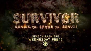 Survivor Super Bowl 2016 TV Promo