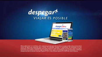Despegar.com Super Bowl 2016 TV Spot, 'Presidents' Day Sale' [Spanish] - Thumbnail 4