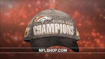 NFL Shop Super Bowl 50 Trophy Collection TV Spot, 'Denver Broncos' - 13 commercial airings