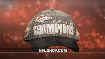 NFL Shop Super Bowl 50 Trophy Collection TV Spot, 'Denver Broncos' - 13 commercial airings