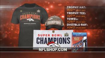 NFL Shop Super Bowl 50 Trophy Collection TV Spot, 'Denver Broncos' - Thumbnail 3