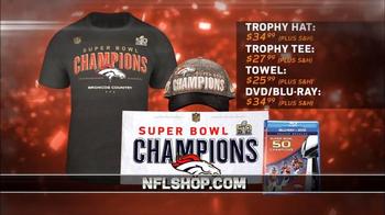 NFL Shop Super Bowl 50 Trophy Collection TV Spot, 'Denver Broncos' - Thumbnail 6