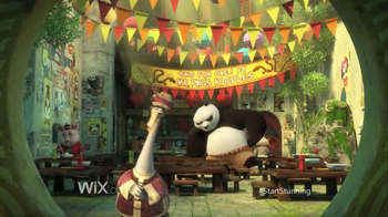 Wix.com Super Bowl 2016 TV Spot, 'Kung Fu Panda Discovers the Power of Wix' - Thumbnail 1
