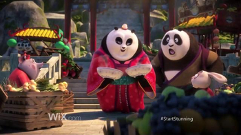 Wix.com Super Bowl 2016 TV Spot, \'Kung Fu Panda Discovers the Power of Wix\'