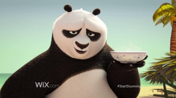 Wix.com Super Bowl 2016 TV Spot, 'Kung Fu Panda Discovers the Power of Wix' - Thumbnail 5