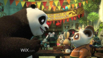 Wix.com Super Bowl 2016 TV Spot, 'Kung Fu Panda Discovers the Power of Wix' - Thumbnail 8