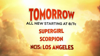 Supergirl | Scorpion | NCIS: Los Angeles Super Bowl 2016 TV Promo - Thumbnail 8