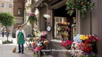 Esurance Sweepstakes TV Spot, 'Overtime'