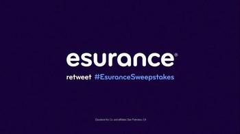Esurance Sweepstakes TV Spot, 'Overtime' - Thumbnail 8