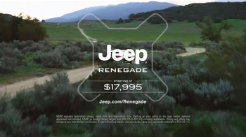 2016 Jeep Renegade TV Spot, 'Take Off' Song by X Ambassadors - Thumbnail 8