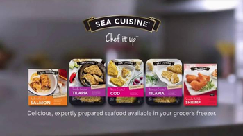 Sea Cuisine TV Spot, 'Chef It Up' - Thumbnail 9