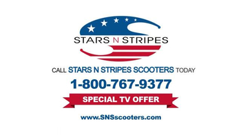 Stars N Stripes Scooters TV Spot, 'Ideal Scooter' - Thumbnail 6