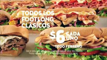 Subway TV Spot, 'Todos los Footlong clásicos' [Spanish] - Thumbnail 10