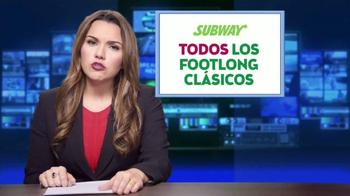 Subway TV Spot, 'Todos los Footlong clásicos' [Spanish] - Thumbnail 3