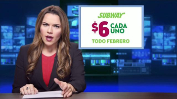 Subway TV Spot, 'Todos los Footlong clásicos' [Spanish] - Thumbnail 4