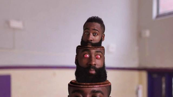 Trolli Sour Brite Crawlers TV Spot, 'Inside James Harden's Head' - Thumbnail 3