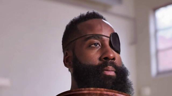 Trolli Sour Brite Crawlers TV Spot, 'Inside James Harden's Head'
