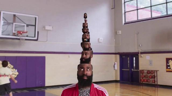 Trolli Sour Brite Crawlers TV Spot, 'Inside James Harden's Head' - Thumbnail 8