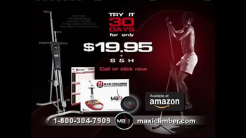 MaxiClimber TV Spot, 'Full-Body Workout' - Thumbnail 5