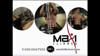 MaxiClimber TV Spot, 'Full-Body Workout' - Thumbnail 2