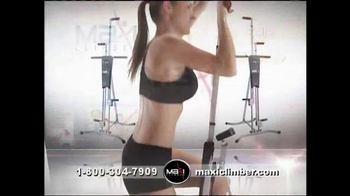 MaxiClimber TV Spot, 'Full-Body Workout' - Thumbnail 3