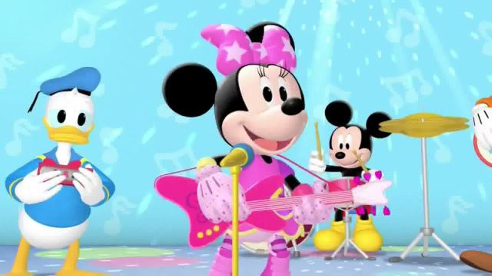 Mickey Mouse Clubhouse Pop Star Minnie Dvd Tv Commercial Disney Junior Ispot Tv