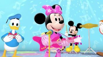 Mickey Mouse Clubhouse: Pop Star Minnie DVD TV Spot, 'Disney Junior' - 46 commercial airings