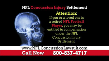 NFL Concussion Lawsuit TV Spot, 'NFL Football Player Compensation' - Thumbnail 2