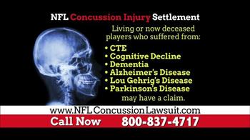NFL Concussion Lawsuit TV Spot, 'NFL Football Player Compensation' - Thumbnail 3