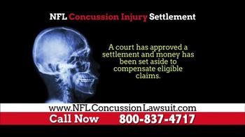 NFL Concussion Lawsuit TV Spot, 'NFL Football Player Compensation' - Thumbnail 4