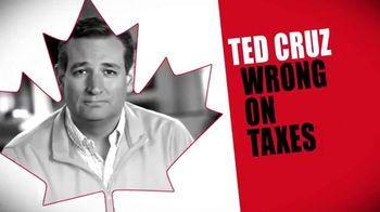Conservative Solutions PAC TV Spot, 'Tax Plan: Ted Cruz'