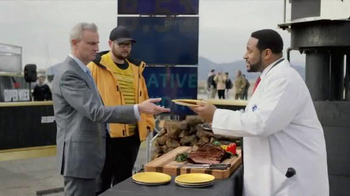 General Electric TV Spot, 'ESPN: Digitized Tailgate' Feat. Jeromes Bettis