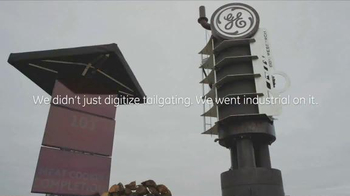 General Electric TV Spot, 'ESPN: Digitized Tailgate' Feat. Jeromes Bettis - Thumbnail 9