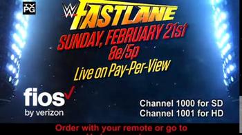 Fios by Verizon Pay-Per-View TV Spot, 'WWE: Fastlane' - Thumbnail 4