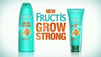 Garnier Fructis Grow Strong TV Spot, 'Stronger Hair' Song by Goldfrapp - Thumbnail 3