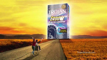 Trojan Groove TV Spot, 'Two Times' - 5991 commercial airings