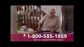 Acorn Stairlifts TV Spot, 'Getting Older' - Thumbnail 3