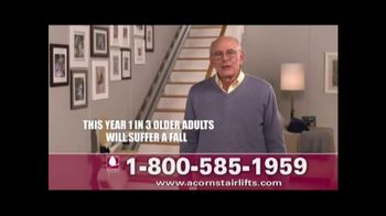 Acorn Stairlifts TV Spot, 'Getting Older'