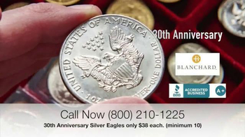 Blanchard and Company 30th Anniversary Silver Eagles TV Spot, 'Iconic' - Thumbnail 2
