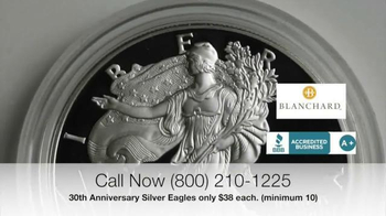 Blanchard and Company 30th Anniversary Silver Eagles TV Spot, 'Iconic' - Thumbnail 4