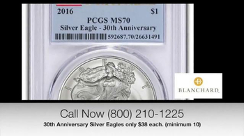 Blanchard and Company 30th Anniversary Silver Eagles TV Spot, 'Iconic' - Thumbnail 6
