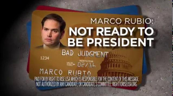Right to Rise USA TV Spot, 'Rubio's Bad Judgment' - Thumbnail 8